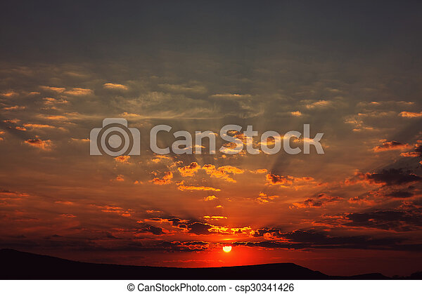 Sunset - csp30341426