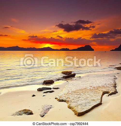 Sunset - csp7992444