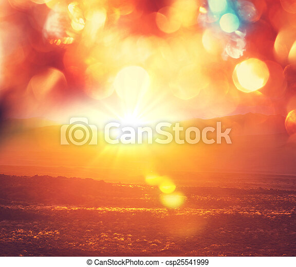 Sunset - csp25541999