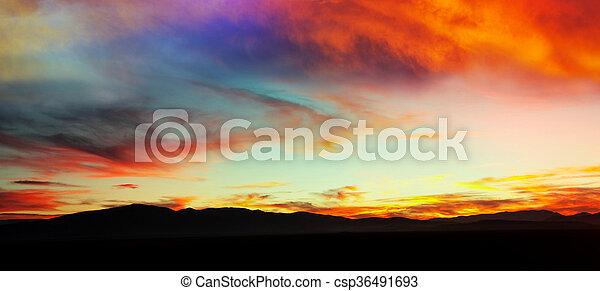 Sunset - csp36491693