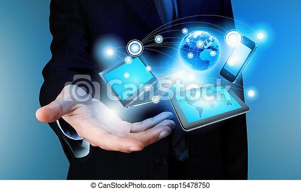 Technology concept - csp15478750