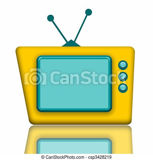 Teddy TV - csp3428219