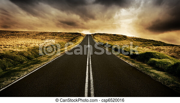 The Road is Long - csp6520016