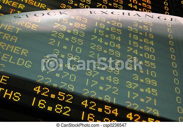 The Stock Exchange - csp0236547