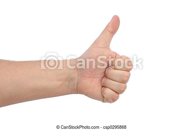 Thumb up - csp0295868