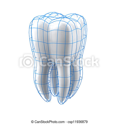 Tooth protection - csp11936879
