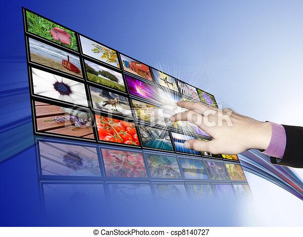 touch-screen communications, technology and development - csp8140727