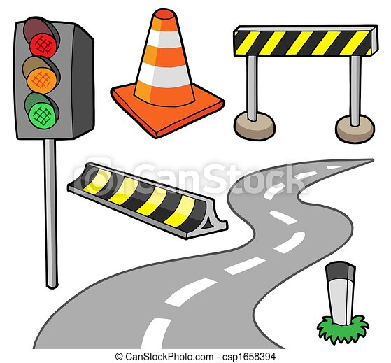 Various road objects - csp1658394