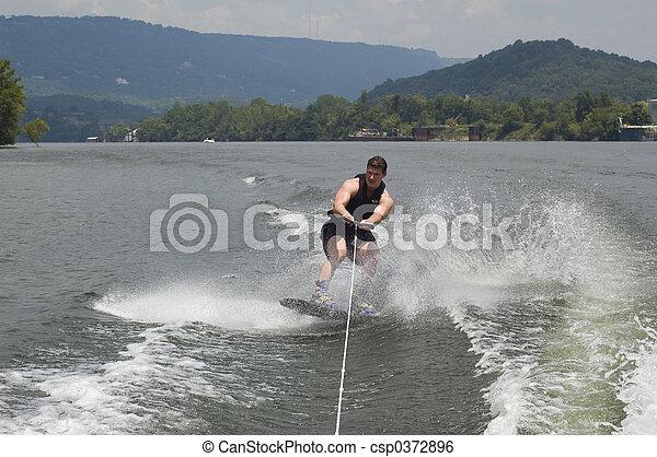 wakeboarder - csp0372896