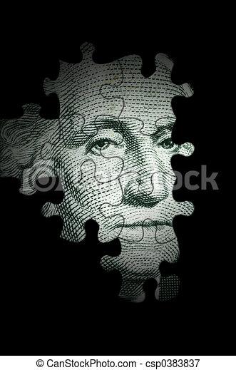 Washington puzzle - csp0383837