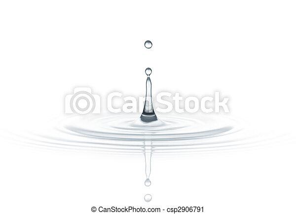 water drop - csp2906791