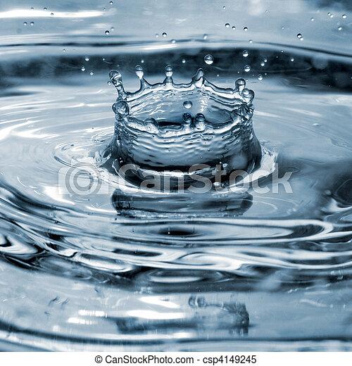 water splash - csp4149245