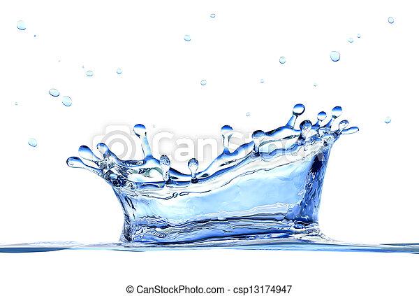 Water splash - csp13174947