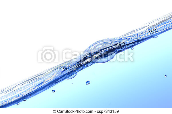 Water splash - csp7343159