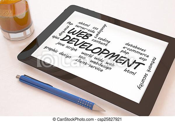 Web Development - csp25827921