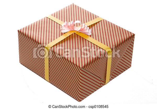 Wrapped Present - csp0108545