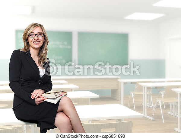 young teacher - csp6051690
