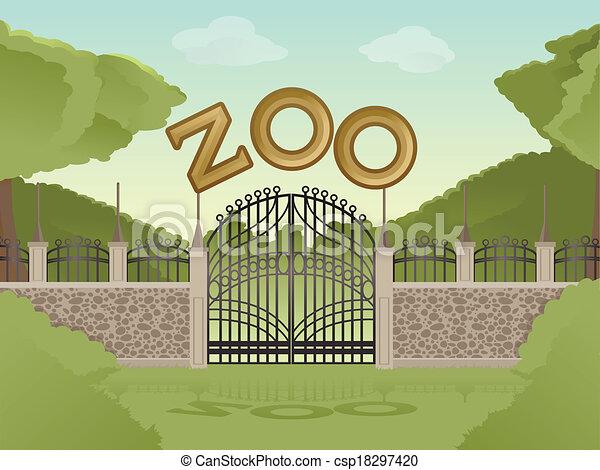 Zoo - csp18297420